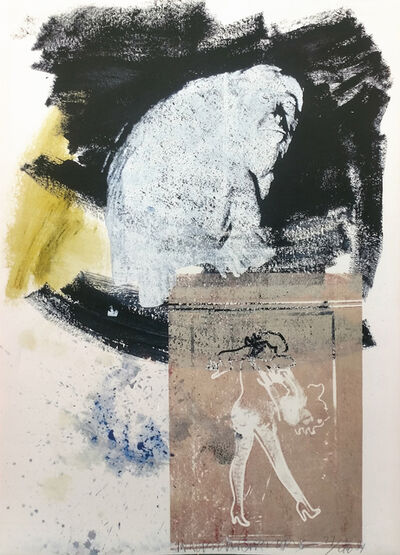 Robert Rauschenberg, 'POISE', 1991