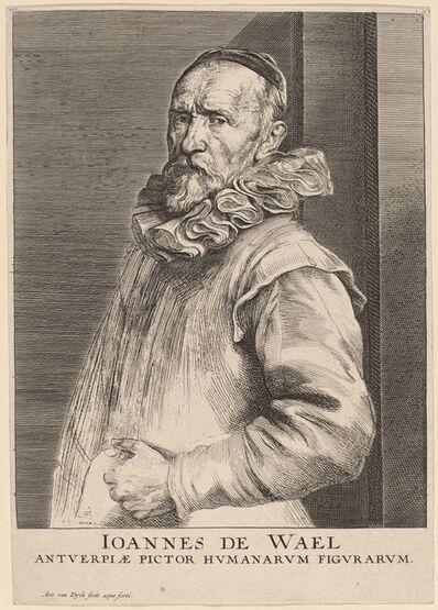 Anthony van Dyck, 'Jan de Wael', ca. 1630