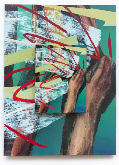 Andrius Zakarauskas, 'Right handed stroke', 2020