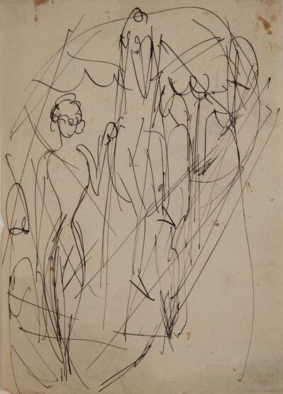 Ernst Ludwig Kirchner, 'Zirkusszene (Circus Scene) ', 1914