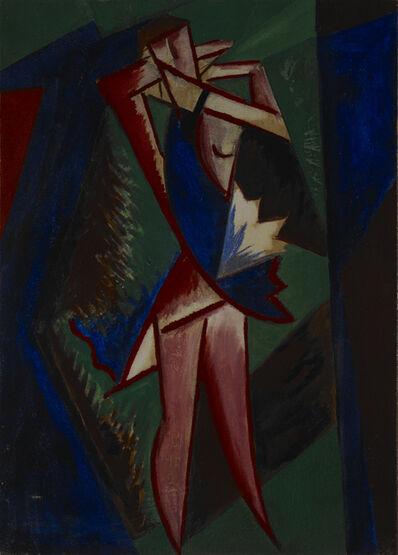Mikhail Fedorovich Larionov, 'Rayonist Dancer', 1915
