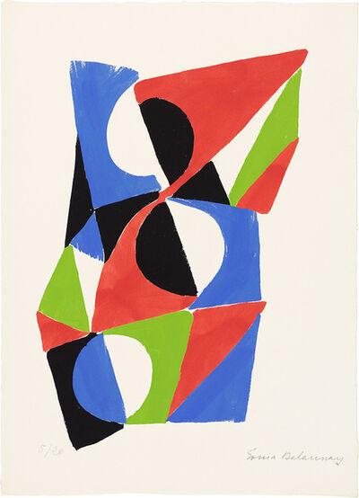 Sonia Delaunay, 'Les Illuminations', 1973