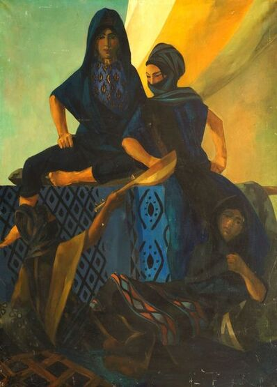 Peter Mitchell, 'Arab women cloaked and veiled'