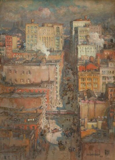 Colin Campbell Cooper, 'West Side, New York', 1908
