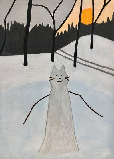Carly Haffner, 'Snow Cat', 2019