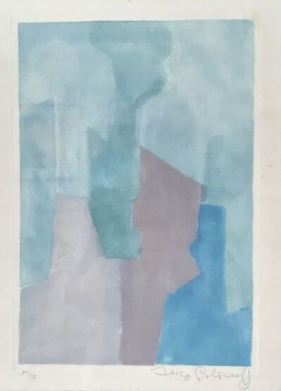 Serge Poliakoff, 'Composition Bleue n° XXIV', 1964