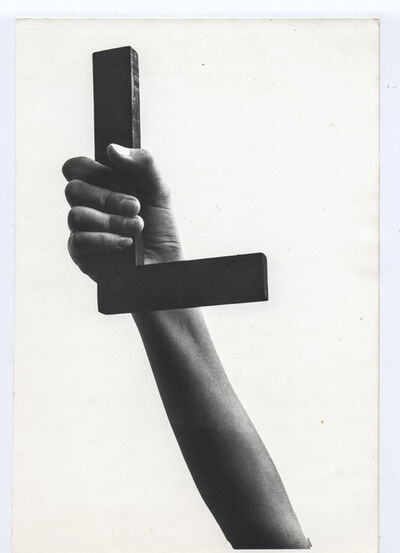 Josef Bauer, 'Language of Showing (L)', 1969