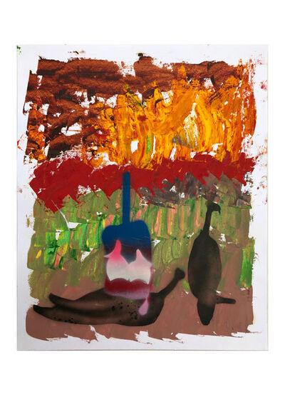 Alessandro Pessoli, 'Ardente Primavera #1', 2020