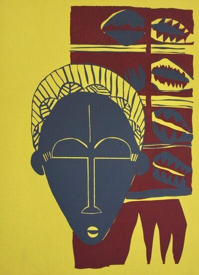 Irene Clark, 'Baule African Mask', ca. 1950