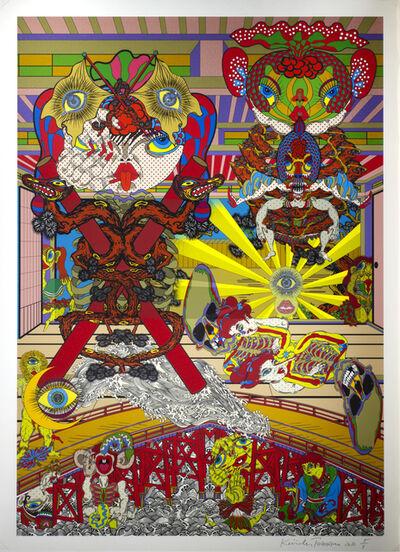 Keiichi Tanaami, 'Lost and wandering Bridge # 7', 2012