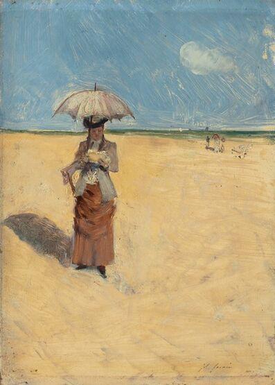 Jean-Louis Forain, 'Walk in the Sun', 1880-1883