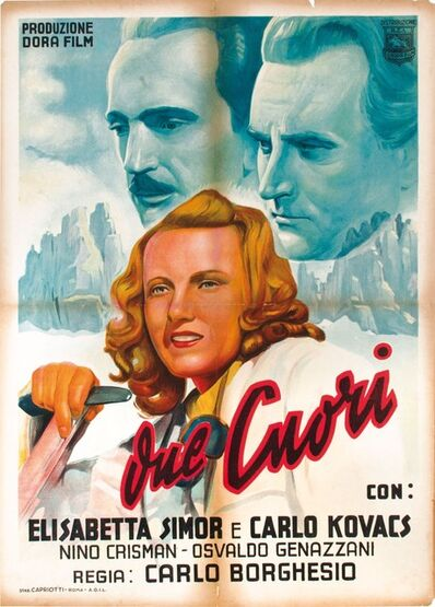 Alfredo Capitani, 'DUE CUORI', 1943