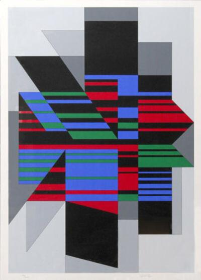 Victor Vasarely, 'Attila', 1990