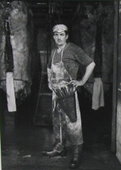 André Kertész, 'Paris Butcher', ca. 1929