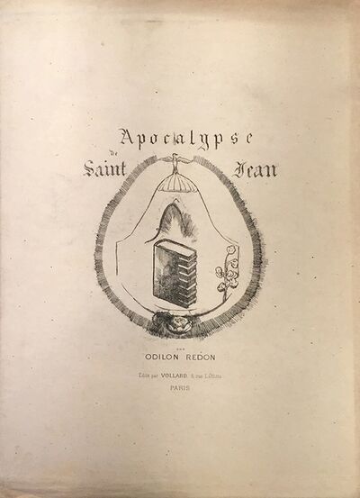 Odilon Redon, 'Apocalypse de Saint Jean - complete suite of 13 b/w lithographs', 1899