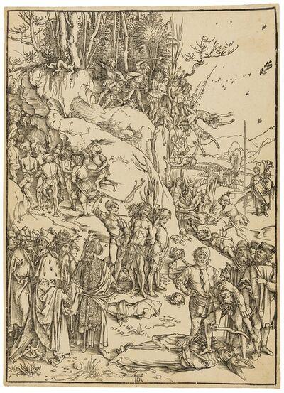 Albrecht Dürer, 'The Martyrdom of the Ten Thousand', circa 1496