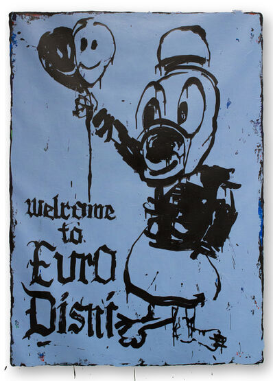 Willehad Eilers, 'Welcome to Euro Disni', 2019