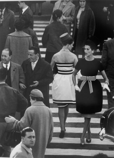 William Klein, 'Nina + Simone, Piazza di Spagna, Rome (Vogue)', 1960