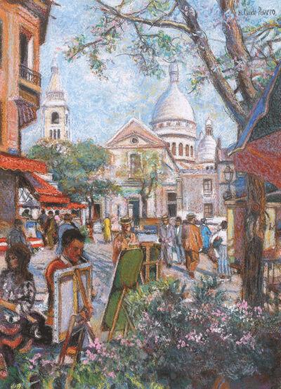 Hugues Claude Pissarro, 'Le Peintre du Sacré-Coeur'