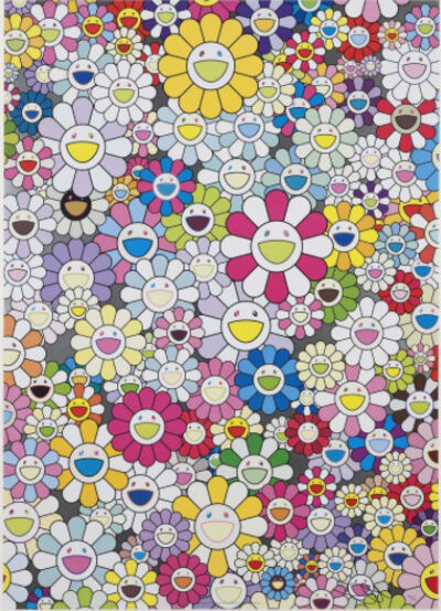 Takashi Murakami, 'An Homage to Yves Klein Multicolor D'