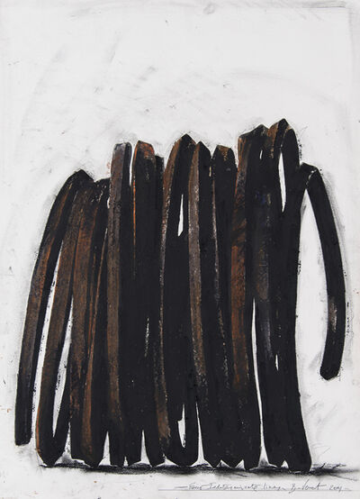 Bernar Venet, 'Four Indeterminate Lines', 2001