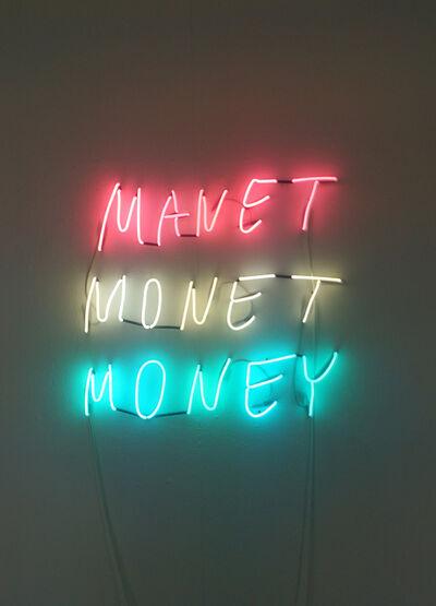 ART N MORE, 'Manet Monet Money', 2014
