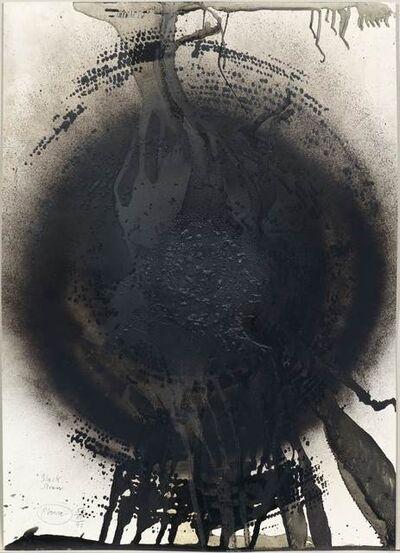 Otto Piene, 'Black Siren'