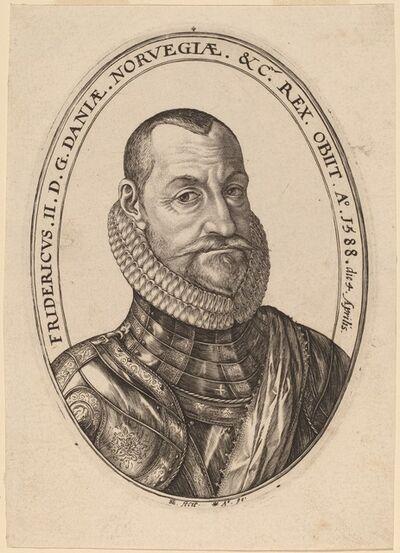 Hendrik Goltzius, 'Frederick II', 1590