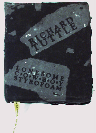 Richard Tuttle, 'Lonesome Cowboy Styrofoam', 1990