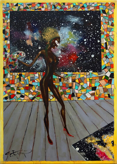 Ealy Mays, 'Cosmic Painter', early 2000's