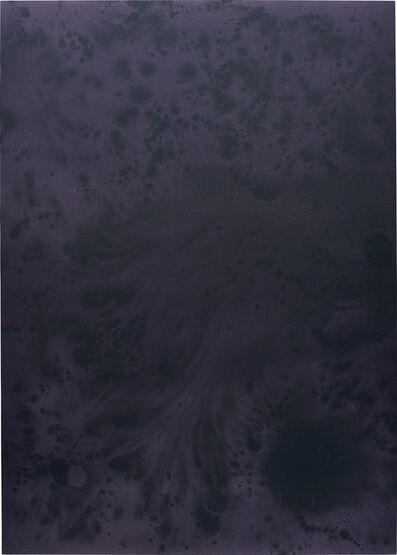 Sayre Gomez, 'Untitled Painting in Purple on Purple', 2014
