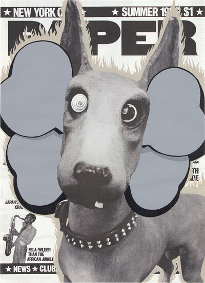 KAWS, 'UNTITLED (PAPER MAGAZINE)', 2003