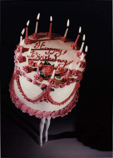 Laurie Simmons, 'Walking Cake II (Colour)', 1989