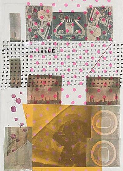 Robert Rauschenberg, 'Hommage a John Cage', 1983