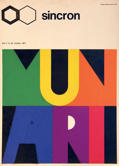Bruno Munari, 'BOZZETTO SINCRON', 1971