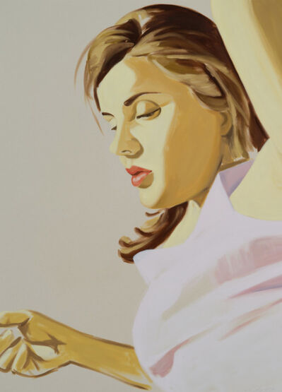 David Salle, 'David Salle, Woman with raised arm', 2020