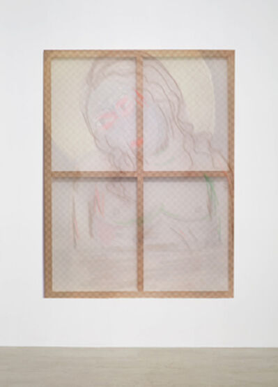 Lin Ke 林科, 'Wood Frame and Jesus', 2019