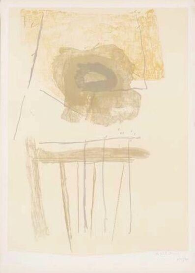 Robert Motherwell, 'Chair', 1971/1972