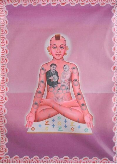 Alexis Kersey, 'Buddha on Louis Vuitton', 2008