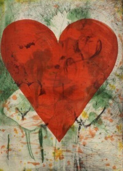 Jim Dine, 'Yellow Marks', 2013