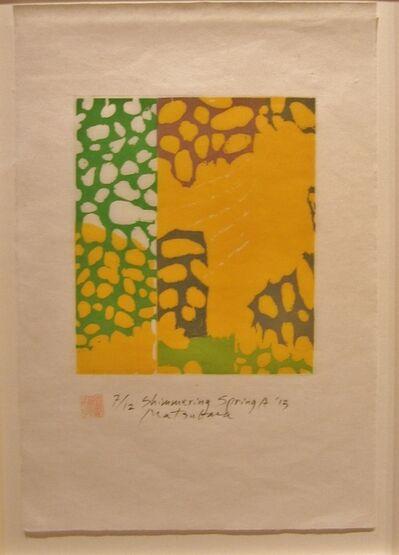 Naoko Matsubara, 'Shimmering Spring A', 2013