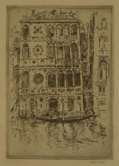 John Marin (1870-1953), 'Palazzo Dario, Venice', 1907