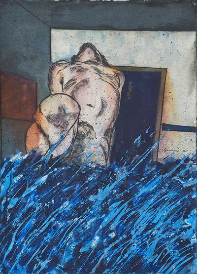 Oliverio Hinojosa, 'La Agua, La Vida', 1986