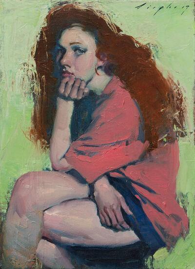 Malcolm T. Liepke, 'Big Red Hair', 2017