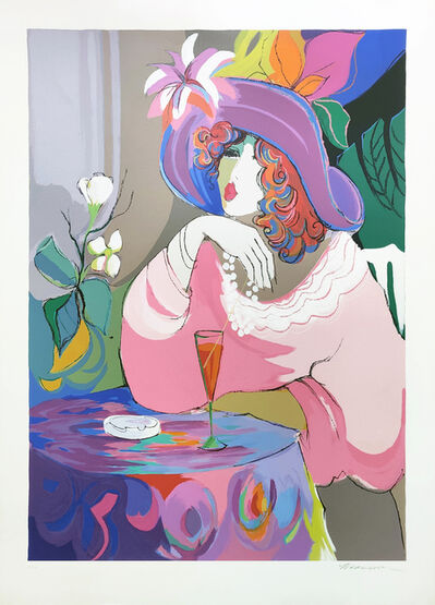 Isaac Maimon, 'CHAMPAGNE GIRL', 1990