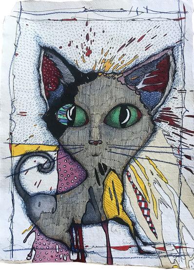 Cheryl Gross, 'Cat on Crack', 2019
