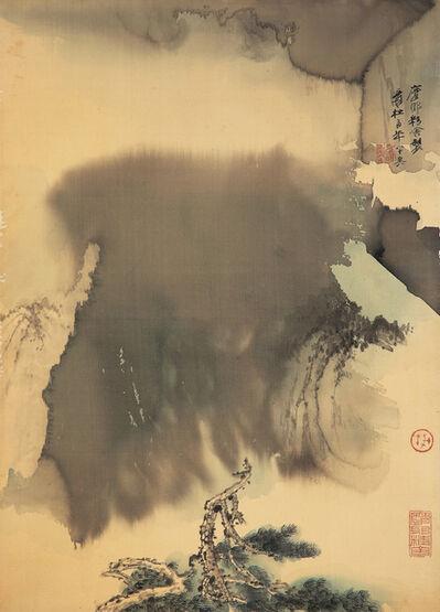 Zhang Daqian, 'Landscape (幽壑雲松)', 1978