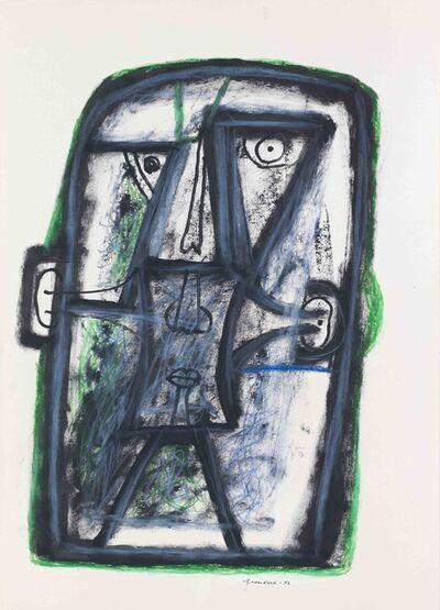 """Alexander Pankin, '""""A head"""" 2', 1997"""