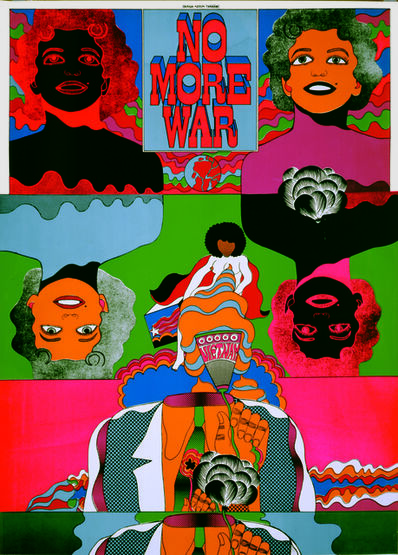 Keiichi Tanaami, 'No More War 5', 1967