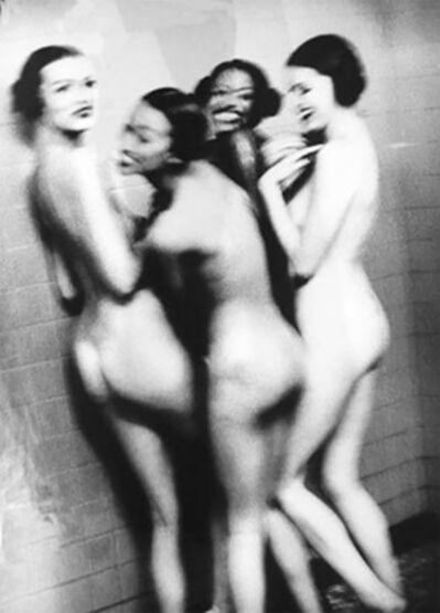 Ellen von Unwerth, 'Four Girls in a Shower', 1994